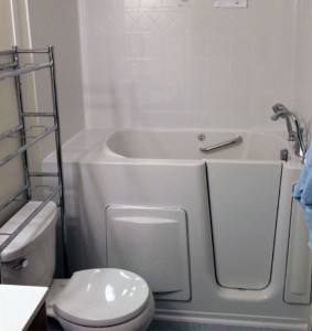 handicap Accessible Walk-in Tub
